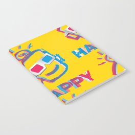 3D HAPPY Notebook