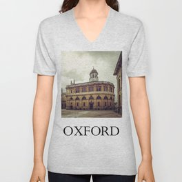 Oxford: Sheldonian Theater Unisex V-Neck