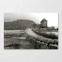 scotland Canvas Prints featuring Scotland by Emily Caldwell