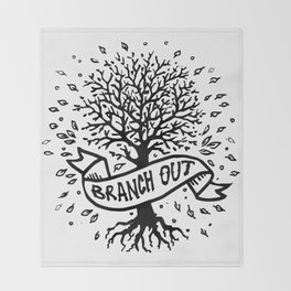 Branch Out Throw Blanket