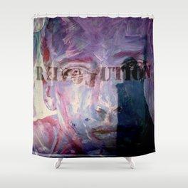 R EVOL UTION Shower Curtain