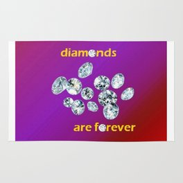 Diamonds Are Forever Rug