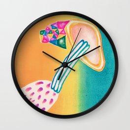 Plexi Print Wall Clock