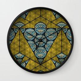 Sacred Geometry - Octahedron Air Wall Clock