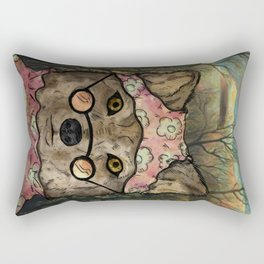 Abueloba (Granny-wolf) Rectangular Pillow