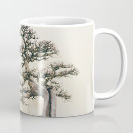 Chinese Elm Bonsai in Winter Coffee Mug