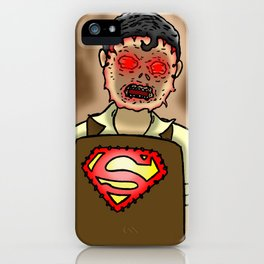 Luthorface iPhone Case