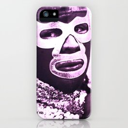 wrestling fighter iPhone Case