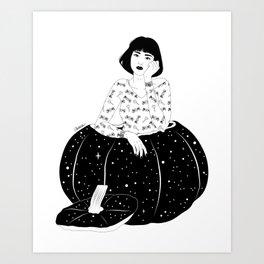 A Special Pumpkin Art Print