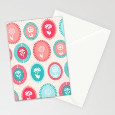 Kitsch Cameo Flora Stationery Cards