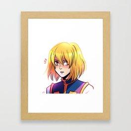 Kurapika Framed Art Print