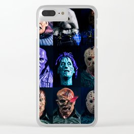 """""""Happy Friday The 13th!!!"""" Clear iPhone Case"""