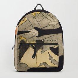 """Henri de Toulouse-Lautrec """"Divan Japonais"""" Backpack"""