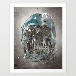 Skull #1 Art Print