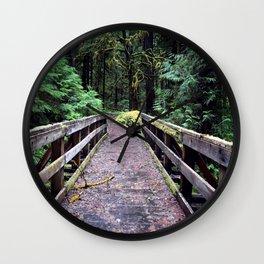 Into the Jungle Wall Clock