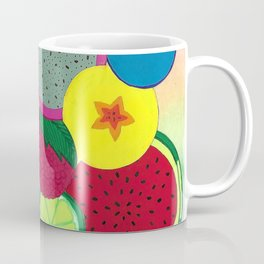 Fruity Circular Slices Coffee Mug