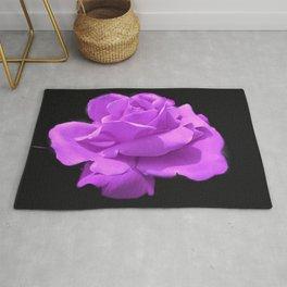 Majestic  Lavender Rose Rug