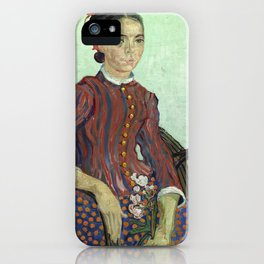La Mousme by Vincent van Gogh iPhone Case