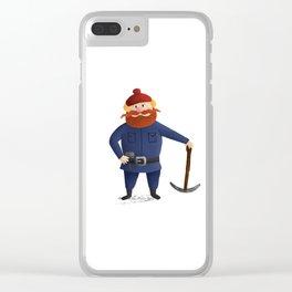 Yukon Cornelius 2016 Clear iPhone Case
