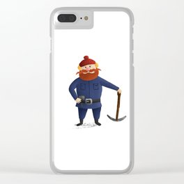 Yukon Cornelius 2016 Clear iPhone Case