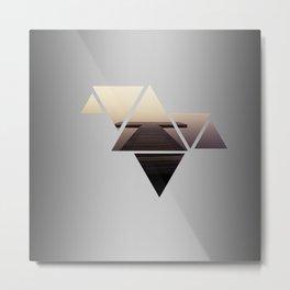 Triangles 2 Metal Print