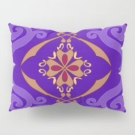 Flying Carpet Aladdin Purple Magic Carpet Pillow Sham