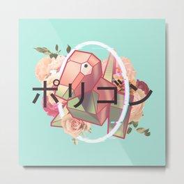 Virtual Monster - Floral Edition Metal Print