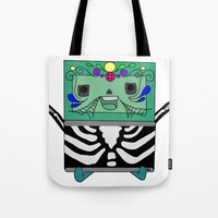 bmo Tote Bags featuring BMO by Ilse Nonsense