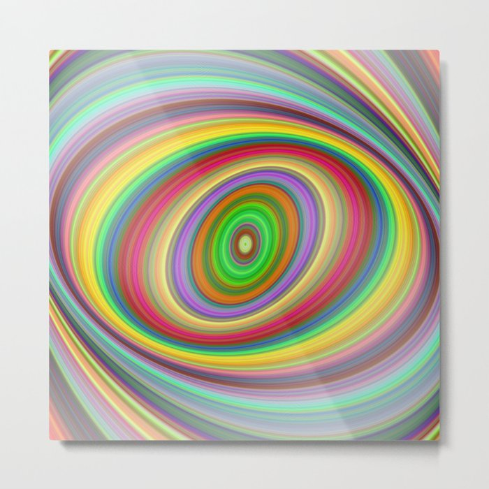Happy brightness Metal Print