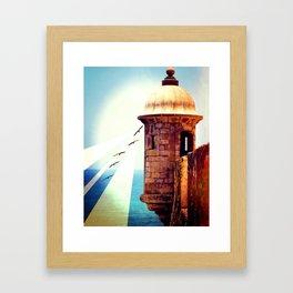 Balance Of Thought Framed Art Print