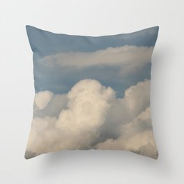 rain · sky Throw Pillow