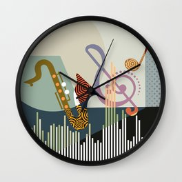 Rhythm I Wall Clock