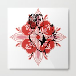 Every rose Metal Print