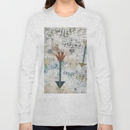 Birds Swooping Down and Arrows Long Sleeve T-shirt