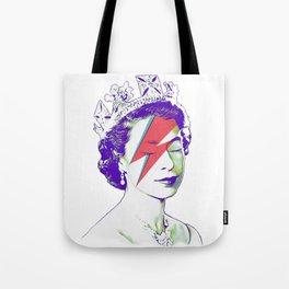 Queen Elizabeth / Aladdin Sane Tote Bag
