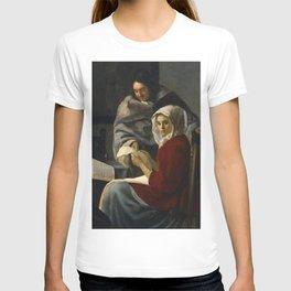 "Johannes Vermeer ""Girl Interrupted at Her Music"" T-shirt"