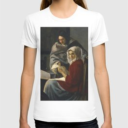 "Johannes Vermeer ""Girl Interrupted at Her Music"" T-shirt"