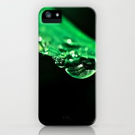 Green Dew iPhone Case