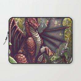 Mending the Dragon Laptop Sleeve