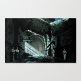 Castle Corridor Canvas Print
