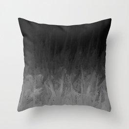 Everything Fades to Black Throw Pillow
