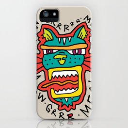 MEOWGR TIGER iPhone Case