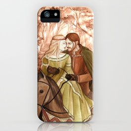 Tristan and Isolde iPhone Case