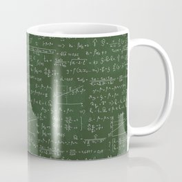 Geek math or economic pattern Coffee Mug