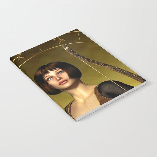 Sagittarius Zodiac Fantasy Notebook
