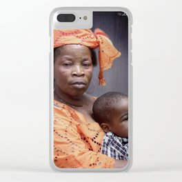 Dignity Clear iPhone Case