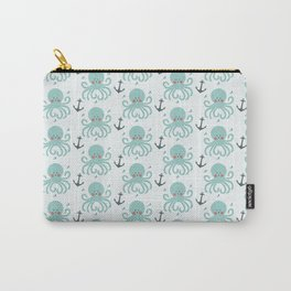 Squid Pattern Carry-All Pouch
