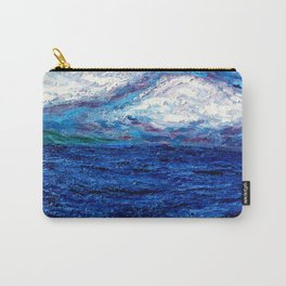 Cotton Candy Ocean Carry-All Pouch