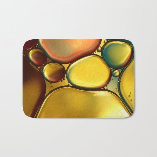 Oil & Water Abstract II Bath Mat