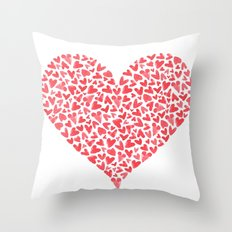 Heart Within  Throw Pillow